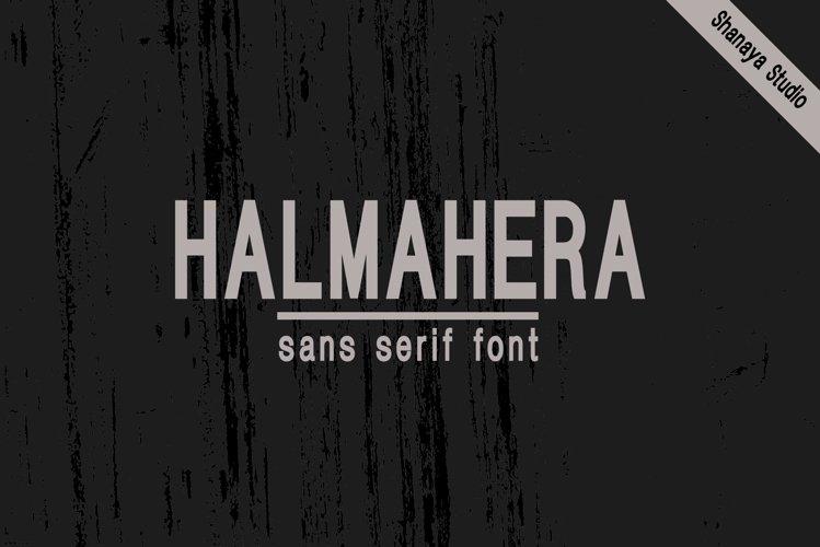 HALMAHERA FONT example image 1