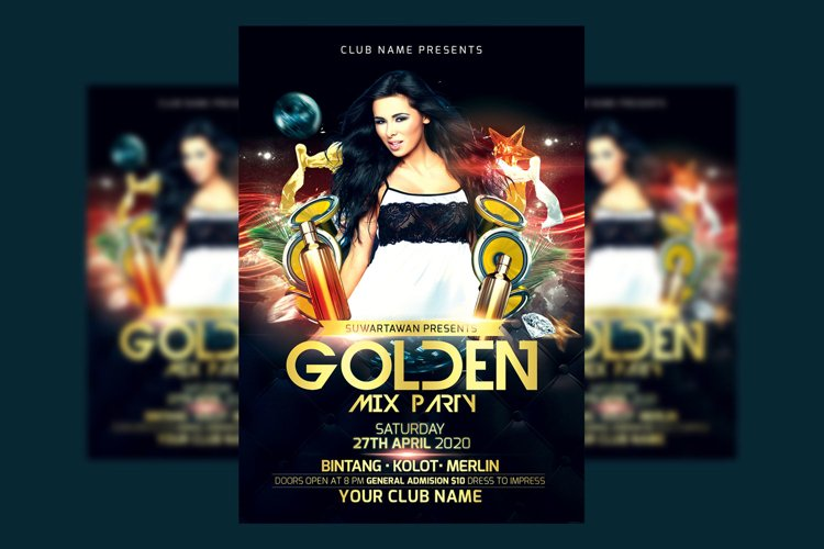 Golden Mix Party example image 1