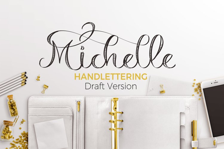 Michelle Handelettering  example image 1