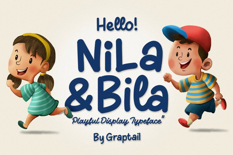Hello! Nila and Bila example image 1