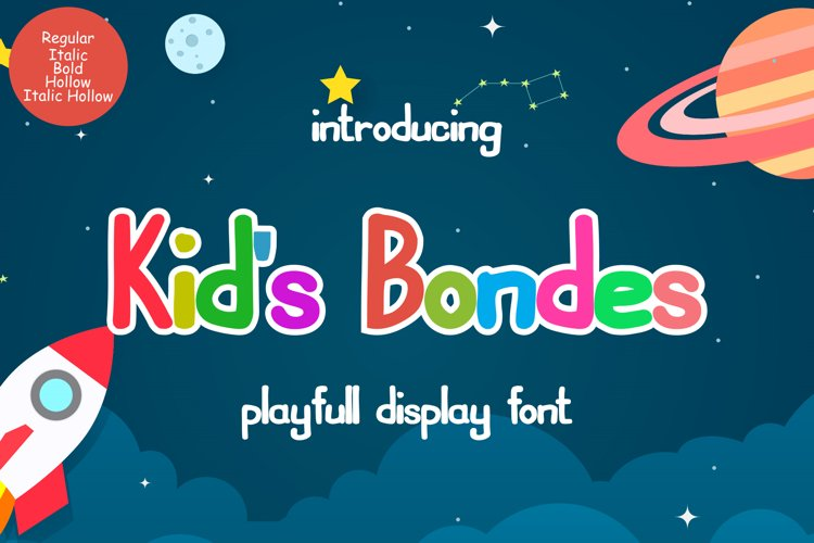 Kids Bondes example image 1