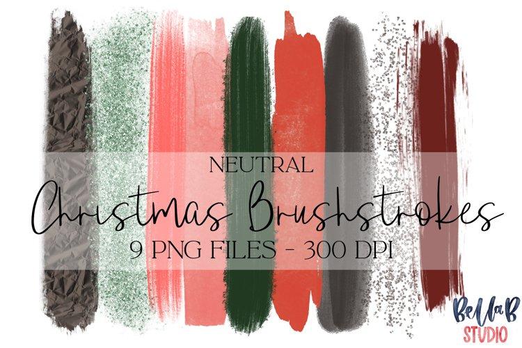 Christmas Brush Strokes Clip Art, Brush Strokes Clip Art