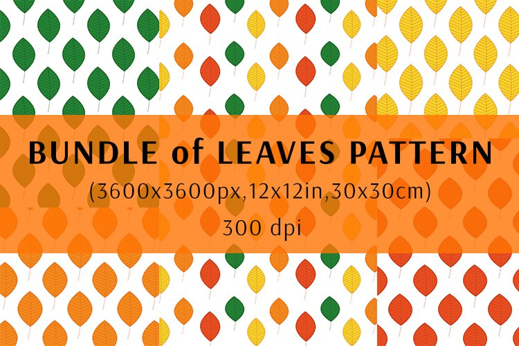 Bundle of Leaves pattern example image 1