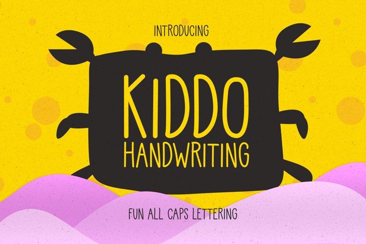 Kiddo Handwritting example image 1