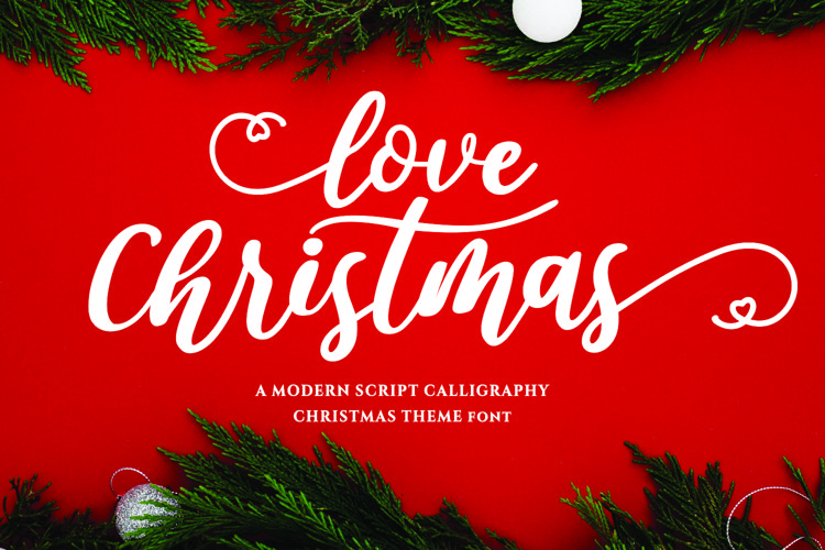 Love Christmas example image 1