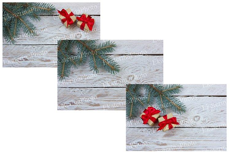 Set of Christmas backgrounds. example image 1