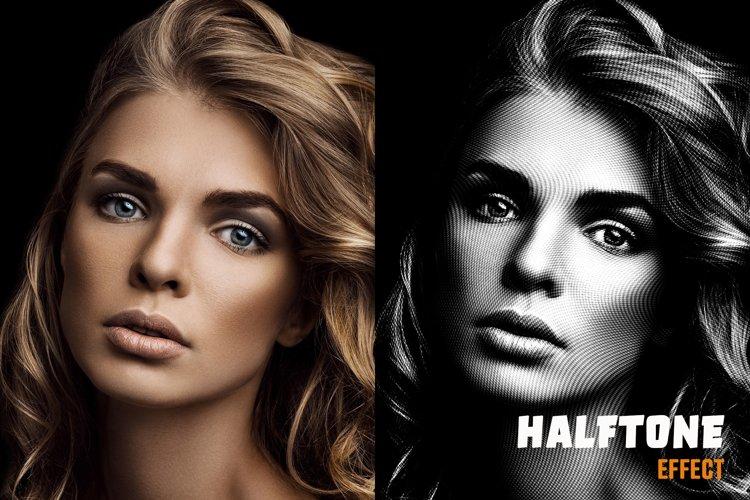 Halftone Effect example image 1