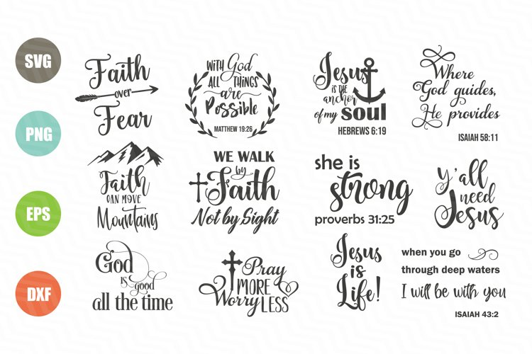 Christian SVG Bundle