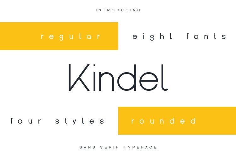 Kindel - Sans Serif Typeface example image 1