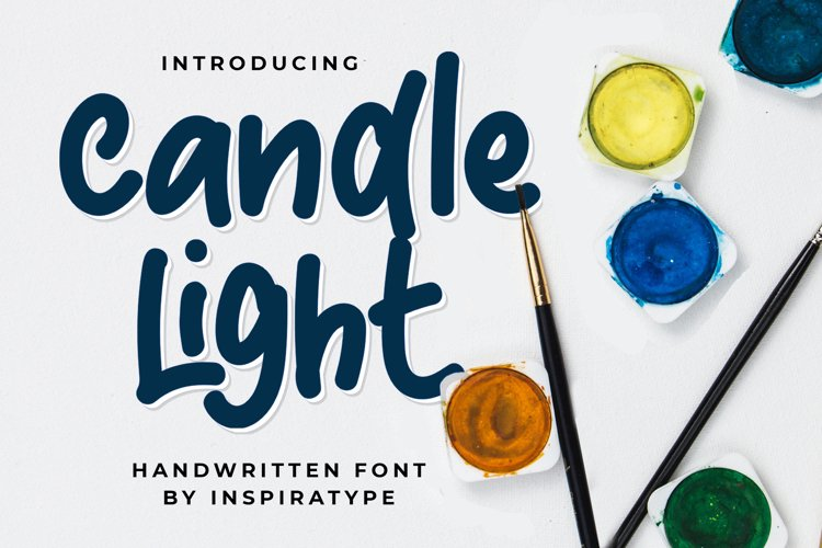 Candle Light - Handwritten Font example image 1