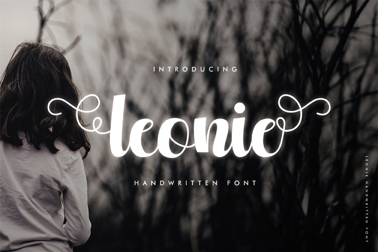 Leonie - A Cute and Beautiful Handwritten Font example image 1