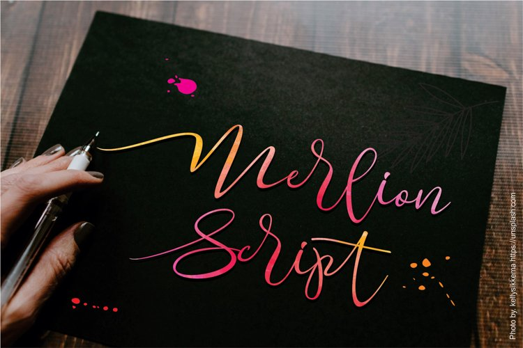 Merlion Script example image 1