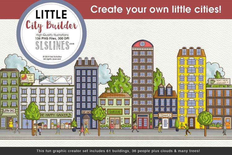 Little City Builder Graphics Set