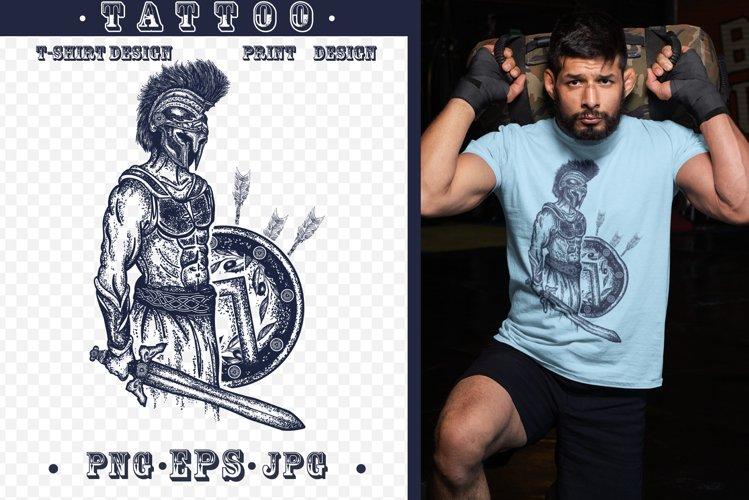 Gladiator tattoo example image 1