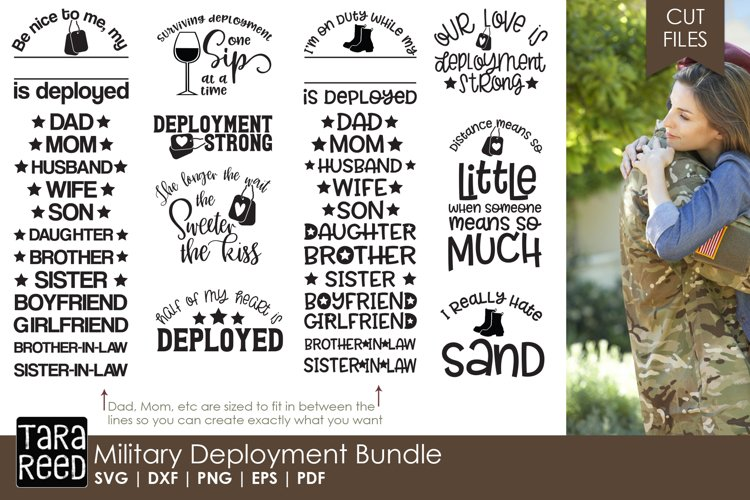 Military Deployment Bundle