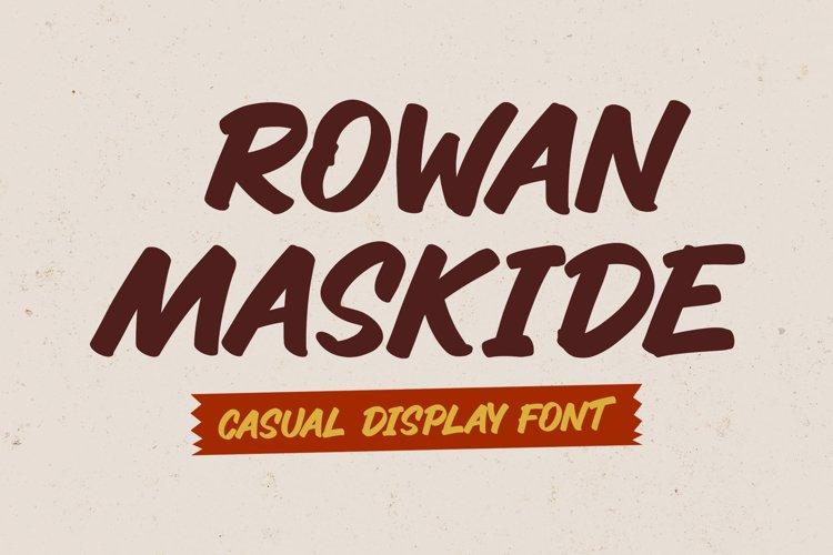 Casual Sans Font - Rowan Maskide example image 1