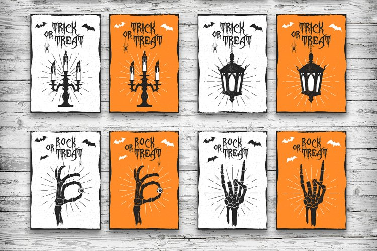 Halloween. 20 Greeting Cards - Free Design of The Week Design4
