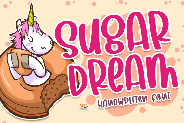 Sugar Dream - Handwritten Font example image 1