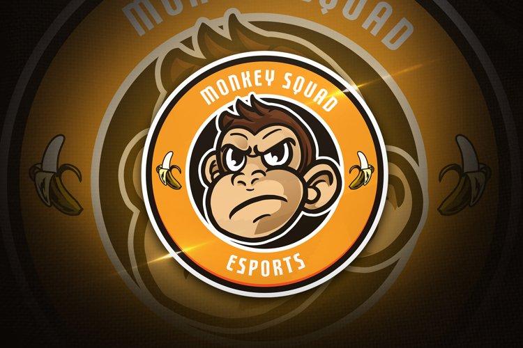 Monkey Squad - Mascot & Esport Logo example image 1