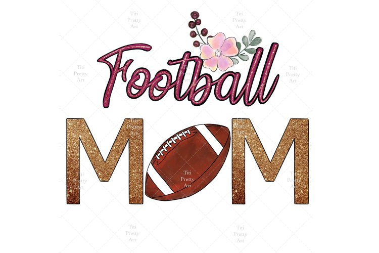 Football Mom Bundle PNG