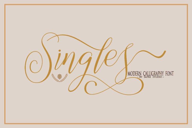 Singles example image 1