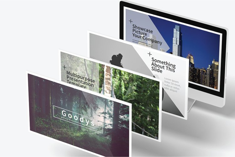 Goodys Powerpoint Template example image 1