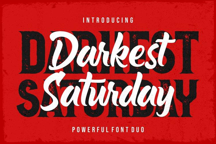 Darkest Saturday Duo example image 1