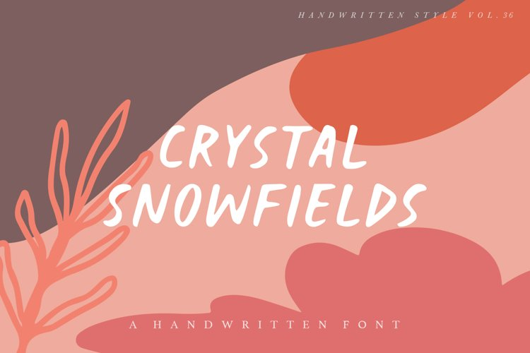 Crystal Snowfields example image 1