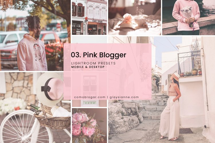 03. Pink Blogger Presets example image 1