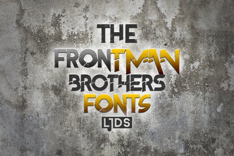 The Frontman Fonts example image 1