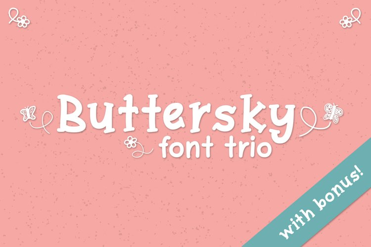 Buttersky - Free Font of The Week Font