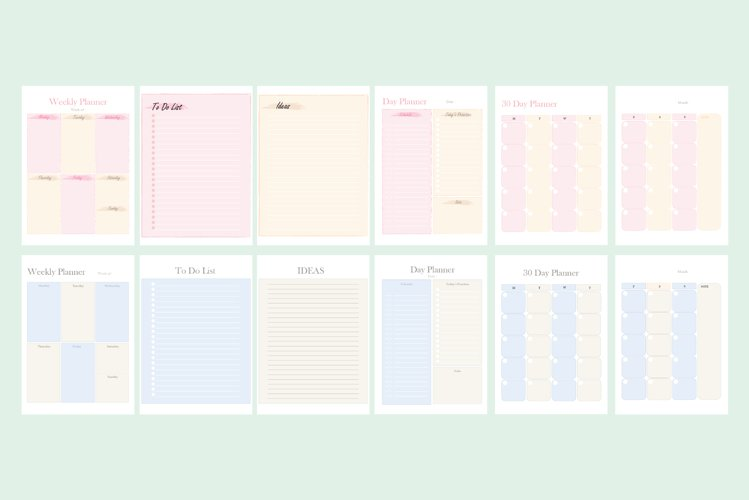 Scrapbook and Planner Decoration Bundle