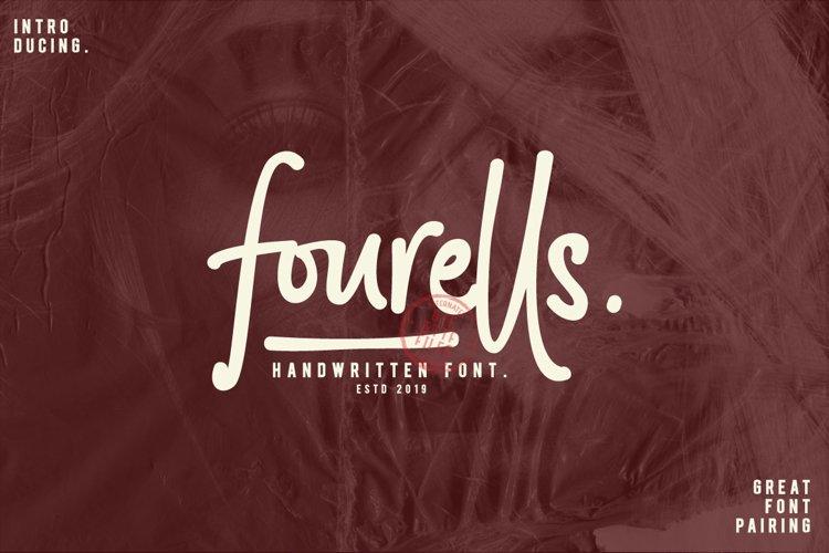 Fourells Script example image 1