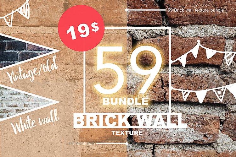 59 Brick Wall Texture Selected  example image 1