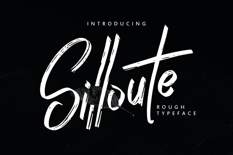 Silloute | Rough Style Script example image 1