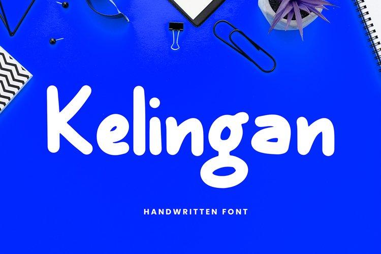 Kelingan Exciting Handwritten Font example image 1