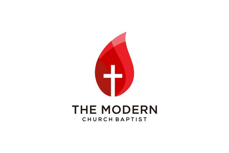 Modern church logo example image 1