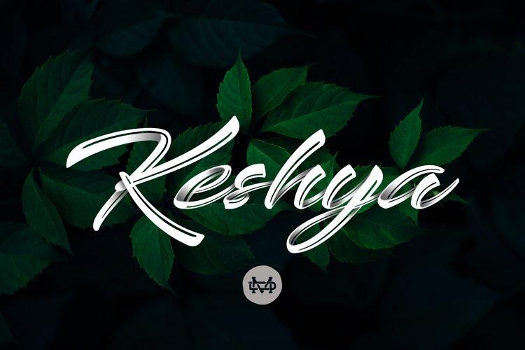 Keshya - Beautiful Script example image 1