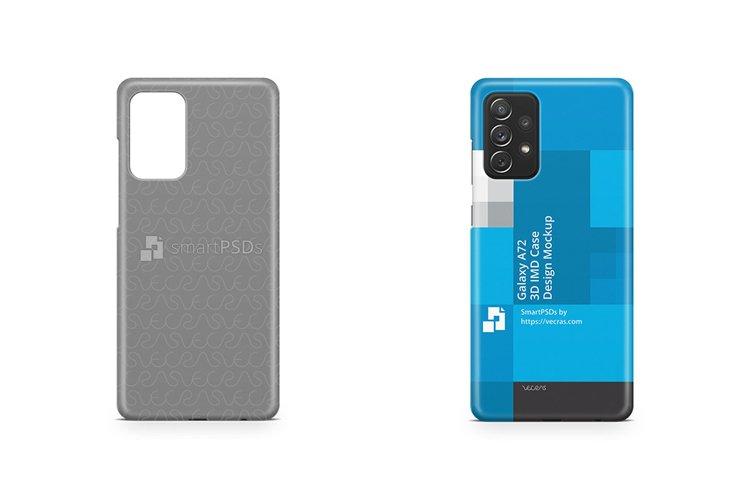Galaxy A72 2021 3d IMD Case Design Mockup