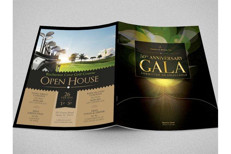 Anniversary Gala Magazine Cover example image 1