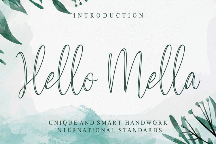 Hello Mella example image 1