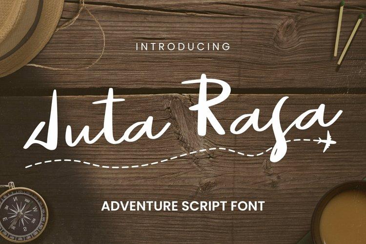 Web Font Juta Rasa Font example image 1