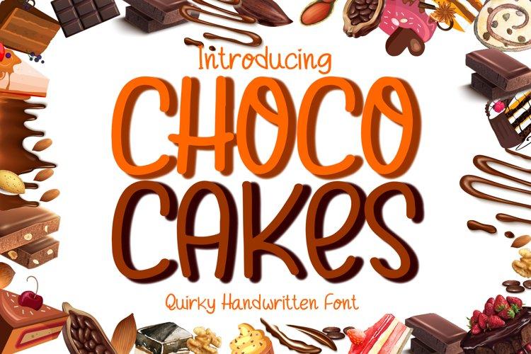 Choco Cakes example image 1