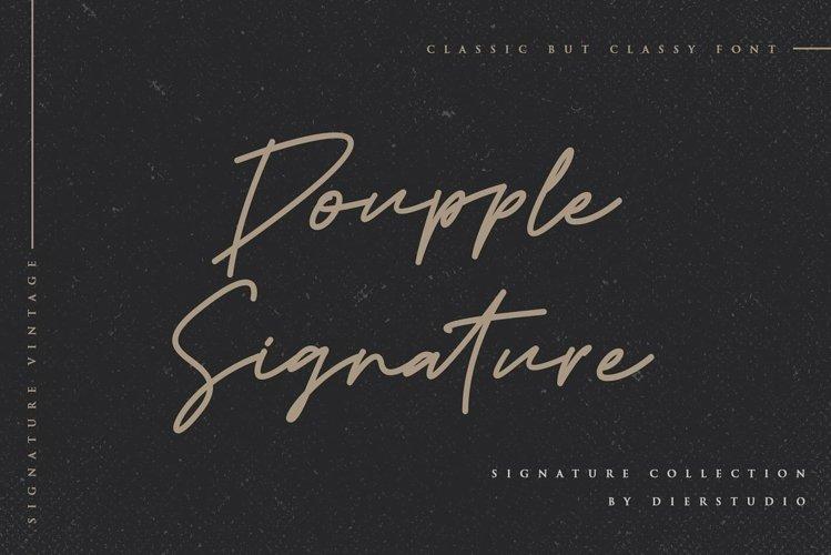 Doupple Signature example image 1