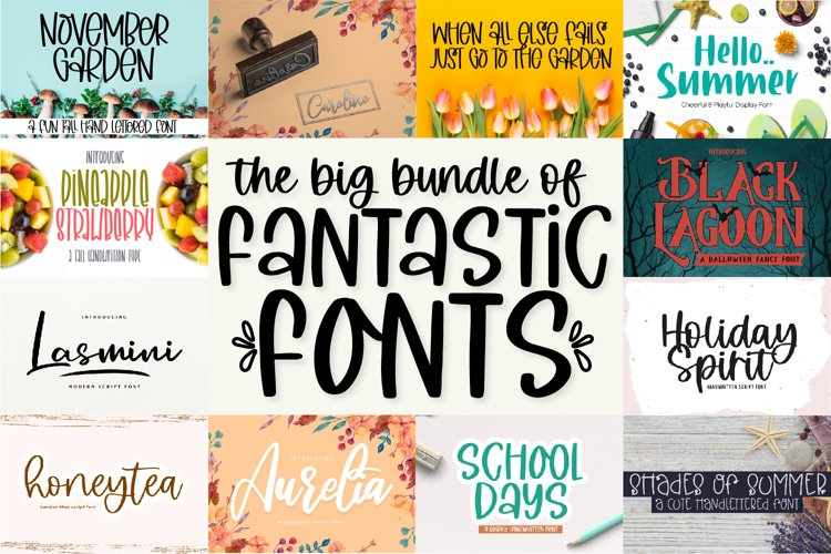 The Big Bundle of Fantastic Fonts