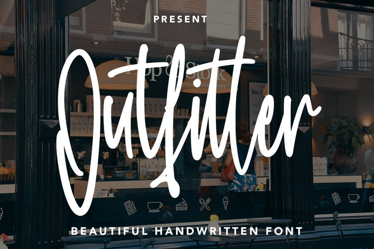Outfitter - Handwritten Font example image 1