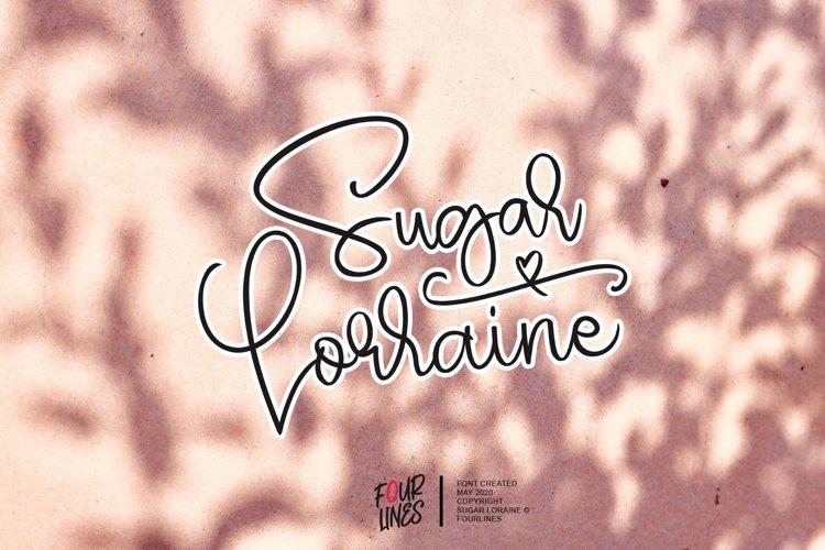 Sugar Lorraine example image 1