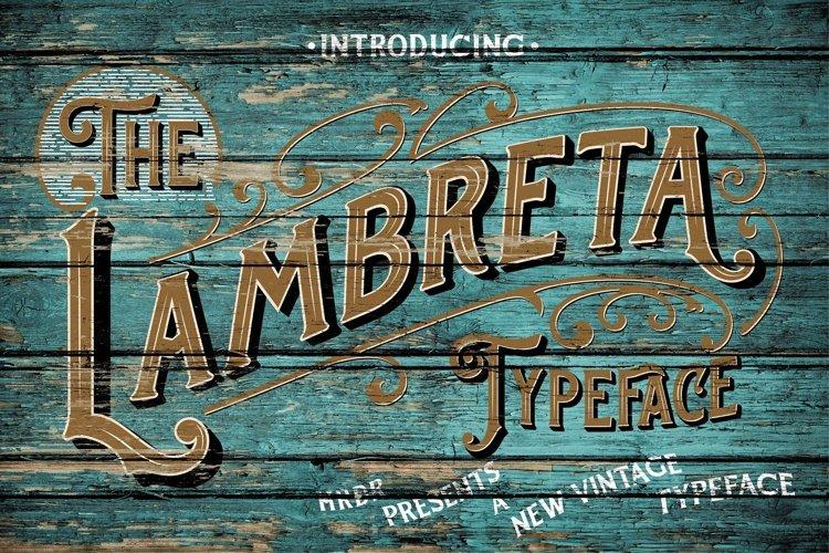 The Lambreta Font Duo