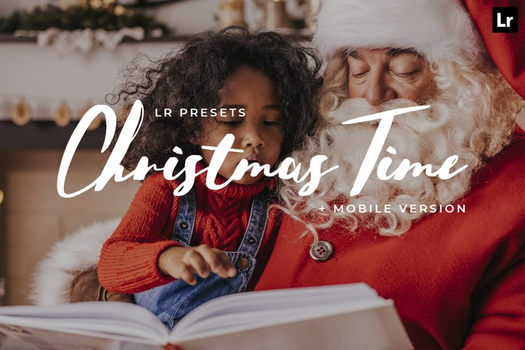 20 Christmas Time Lightroom Presets example image 1