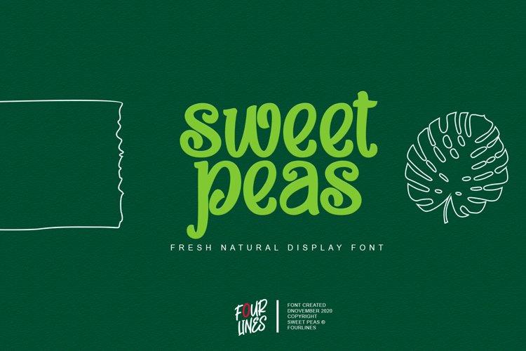 Sweet Peas example image 1
